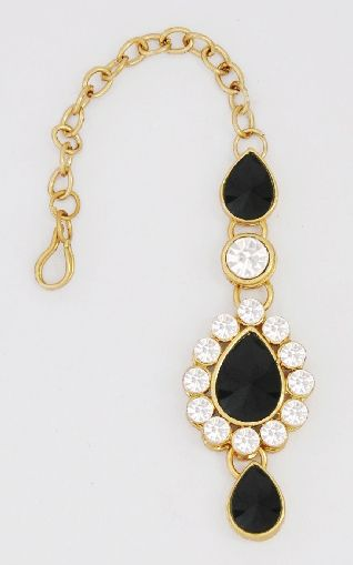Black Mang tikka Jewelry Middle East Pinterest Indian jewelry