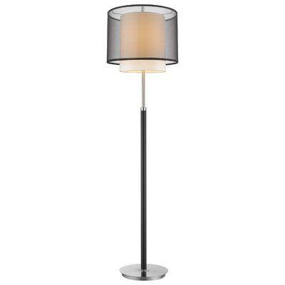 Ebern Designs Feng 62 Floor Lamp Traditional Floor Lamps Floor