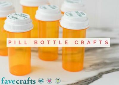 Pill Bottle Crafts Reuse Pill Bottles 15 Ideas Pill Bottle Crafts Reuse Pill Bottles Bottle Crafts