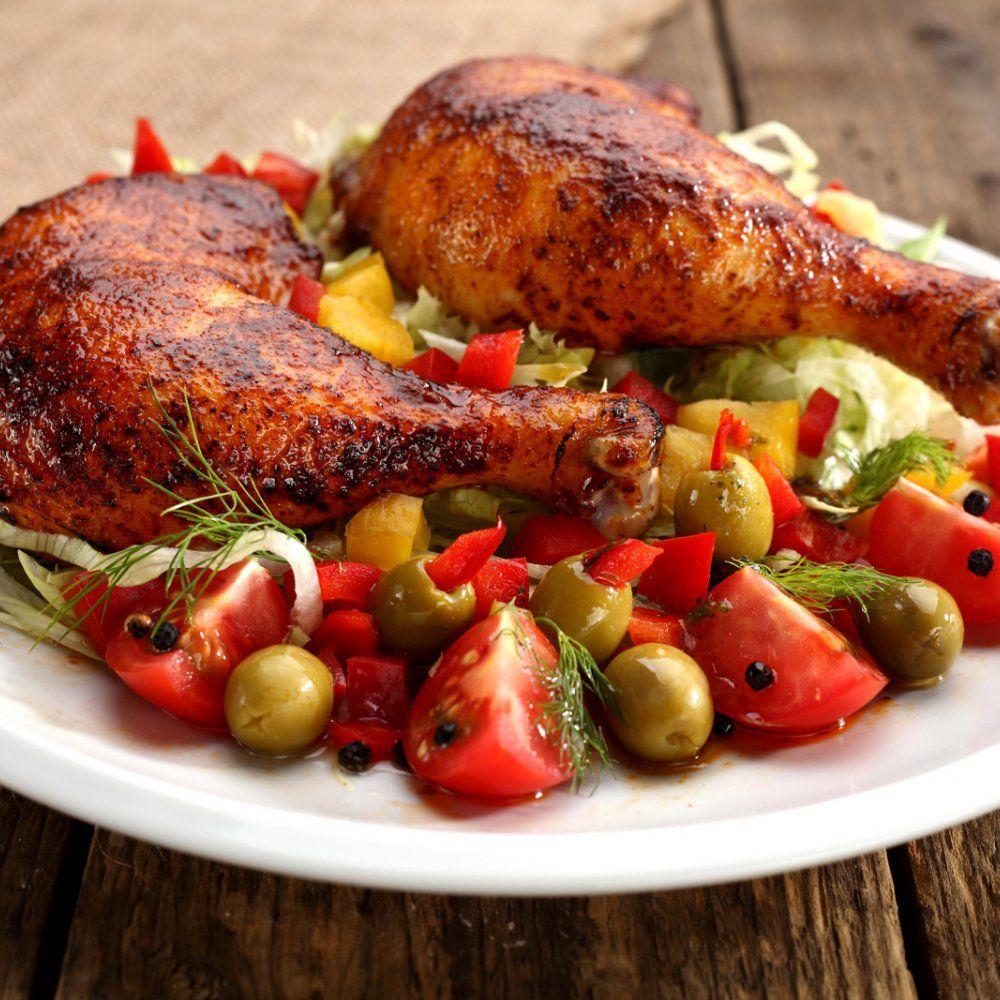 طريقة عمل الدجاج المشوي مع الخضار Food Chicken Food Lover
