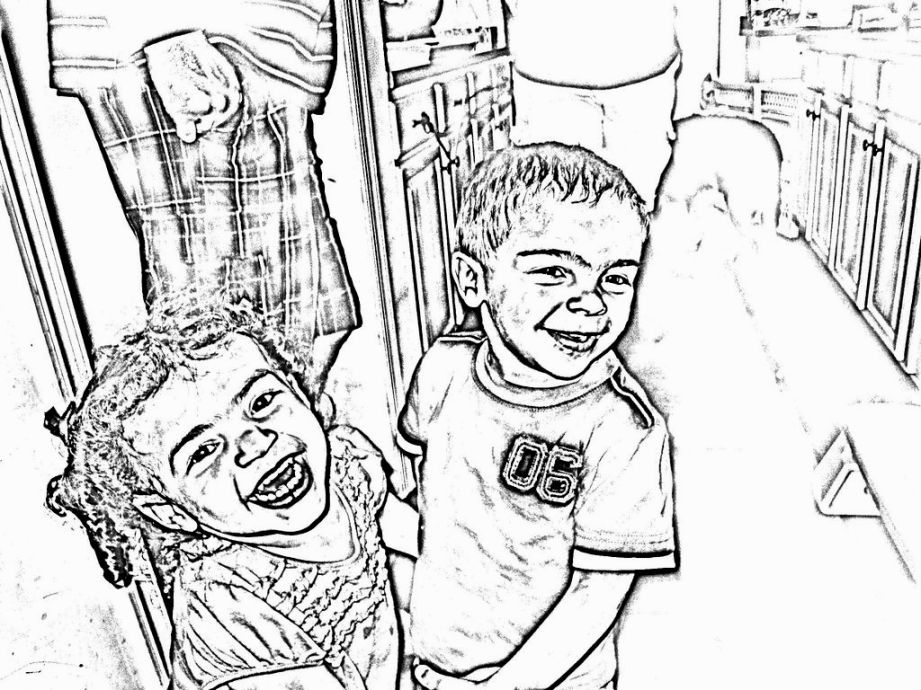 Turn Picture Into Coloring Page Coloring Pages Pinterest