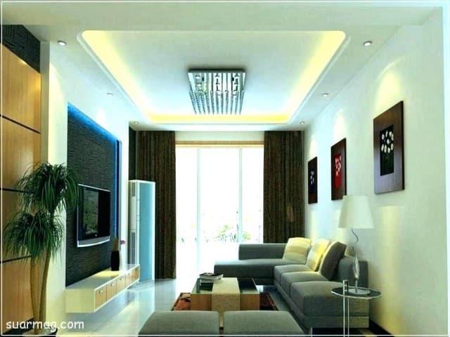 اجمل اشكال اسقف جبس بورد للصالات مستطيلة 2020 جميلة False Ceiling Living Room False Ceiling Bedroom False Ceiling Design