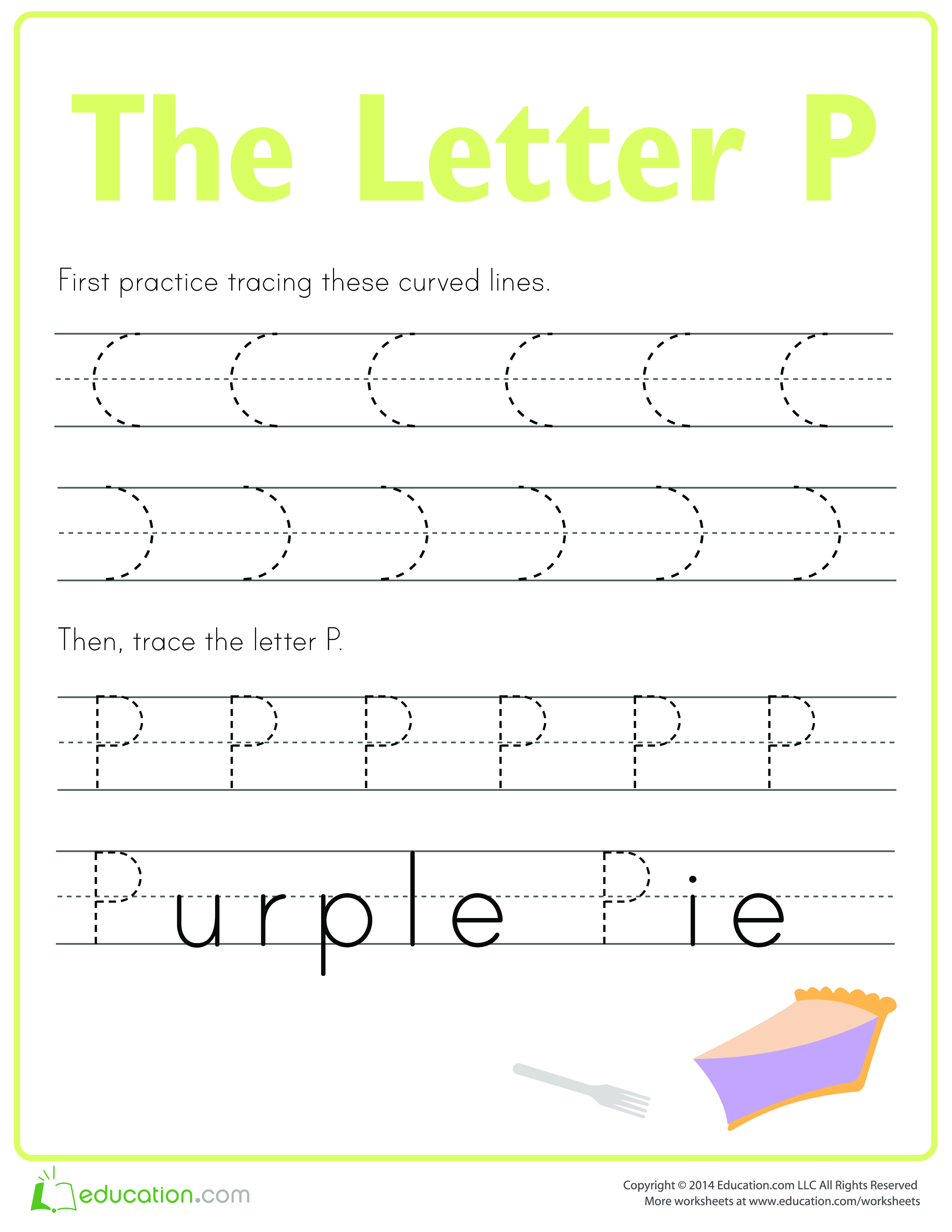 Learn To Write Letter P  Download This How To Write Letter P If