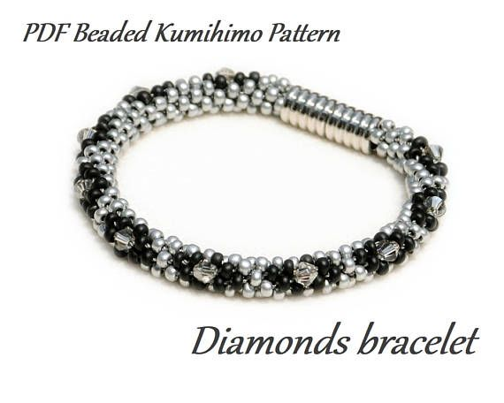 Diamonds Are a Girls Best Friend :) This pattern features