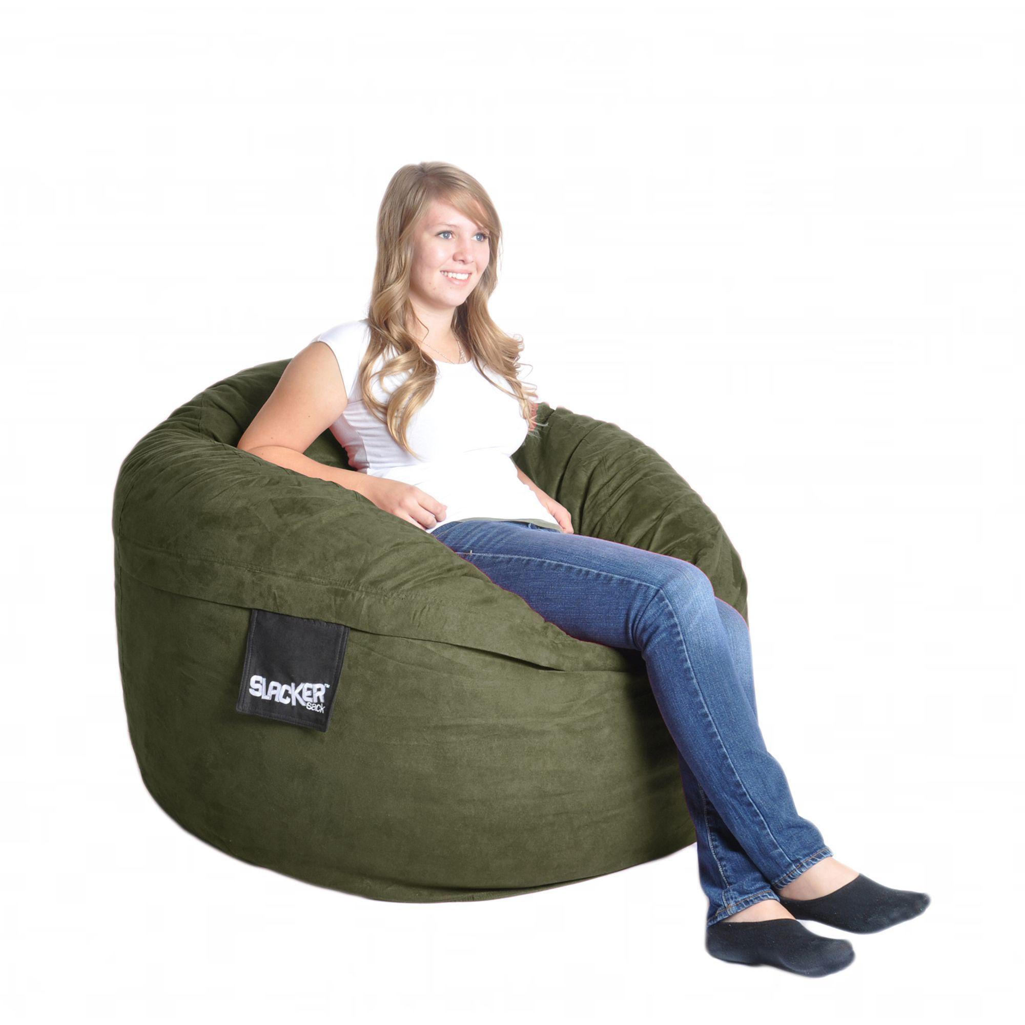 Astonishing Olive Green 4 Foot Microfiber Foam Bean Bag 4 Olive Cjindustries Chair Design For Home Cjindustriesco