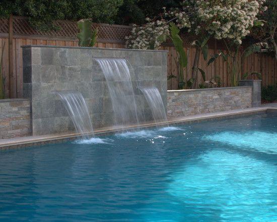 Pool Fountain Waterfall