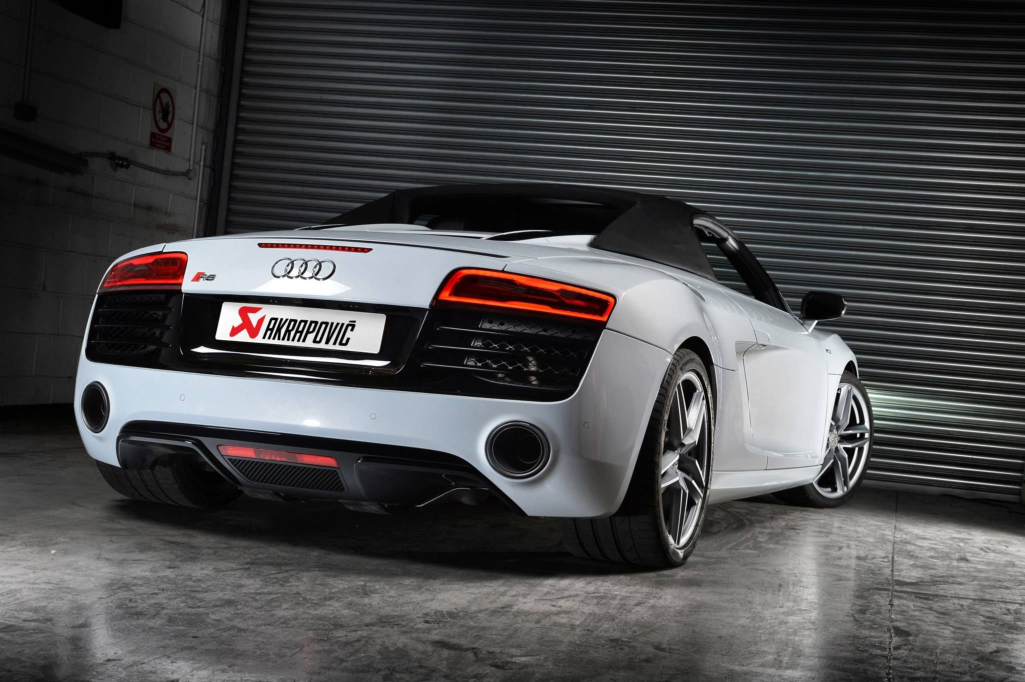 Awesome 2014 Audi R8 V10 Demo Car Akrapovic Slip On System