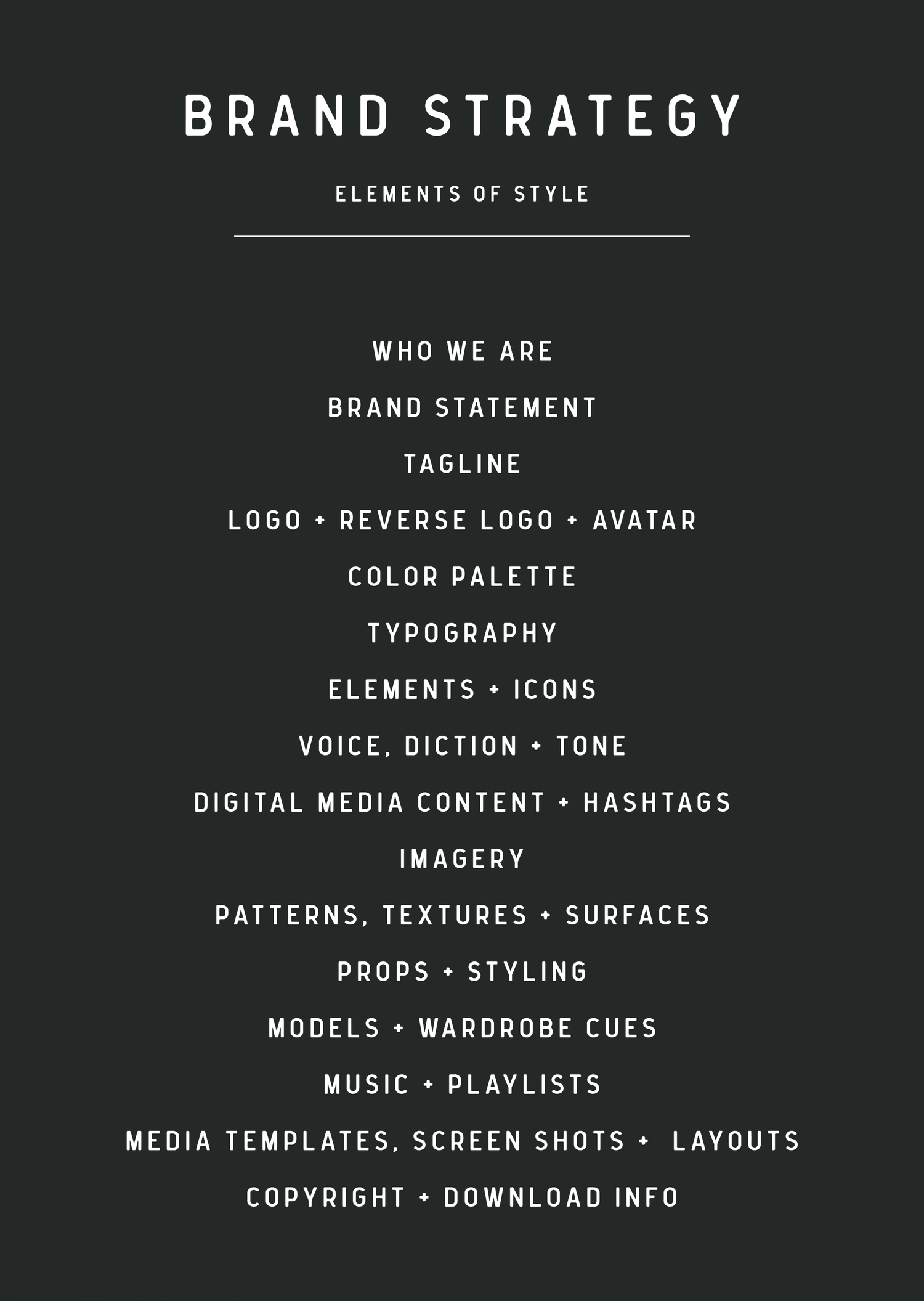 Brand Guidelines Elements Of Style Branding Your Business Business Branding Brand Guidelines