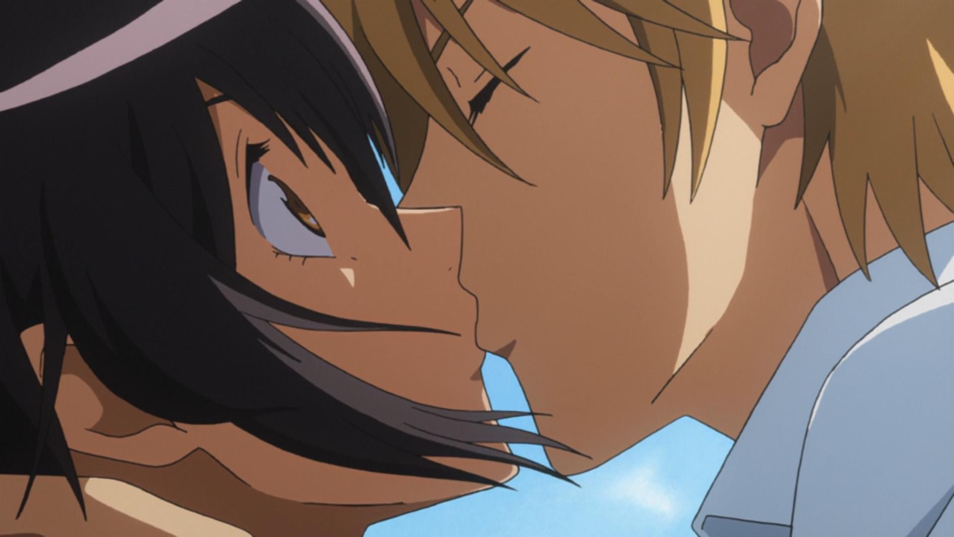 Maid sama ep6 first confession kiss #usui #misaki