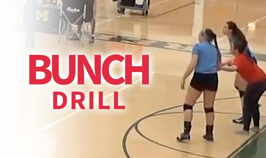Bunch drill to train defensive movement of players