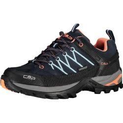 Photo of Cmp Damen Trekking-Halbschuhe Rigel Low Wmn Trekking Shoes Wp, Größe 37 In Schwarz F.lli Campagnolof