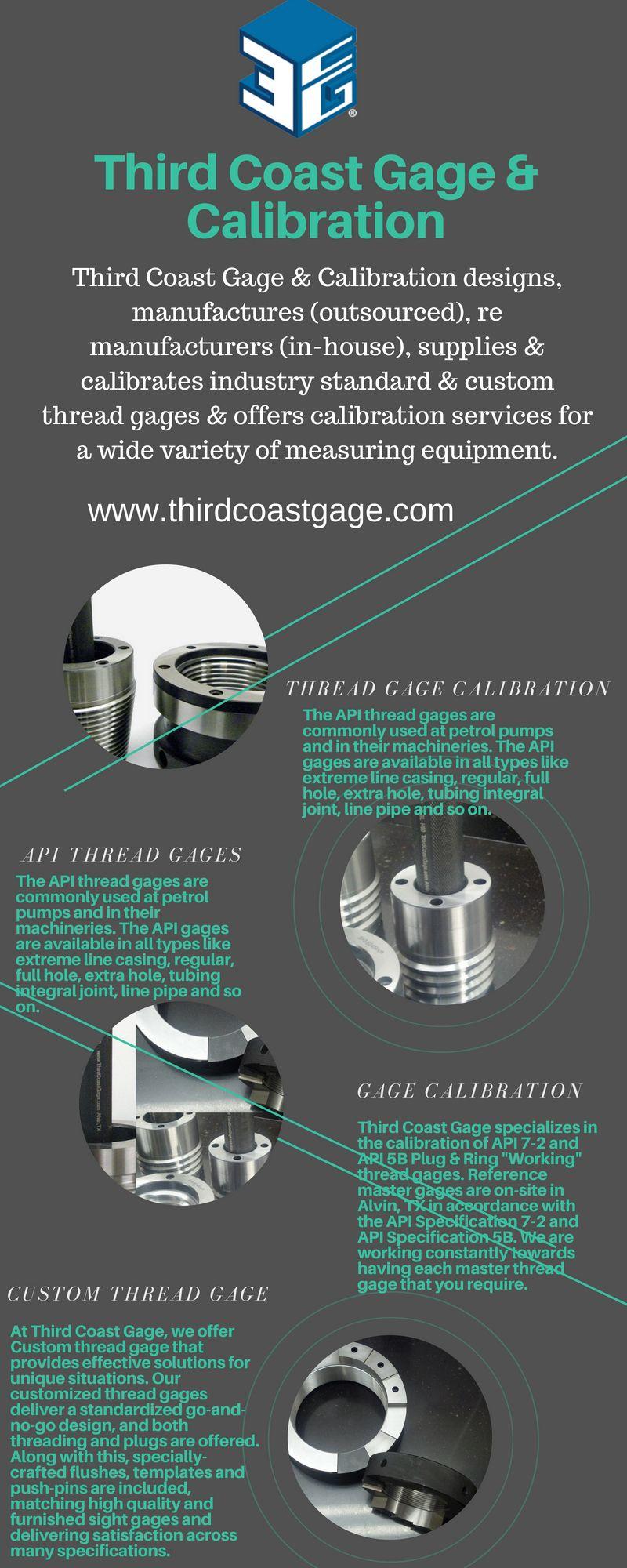 Third Coast Gage & Calibration specializes in Spec 7-2 & 5B