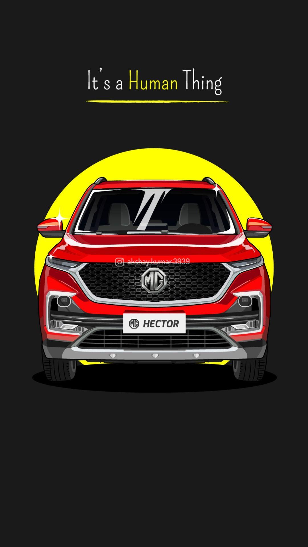 Mg Hector Wallpaper Indian Cars Wallpaper Vector Art Hector Car Vector Vector Artwork