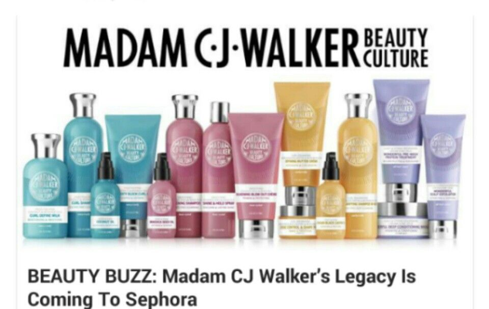 Madam C.J. Walker beauty products and more coming to