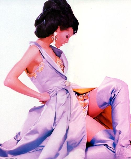 "Yasmin Le Bon:""Haute Couture"", Harper's Bazaar US, Nov, 1990"