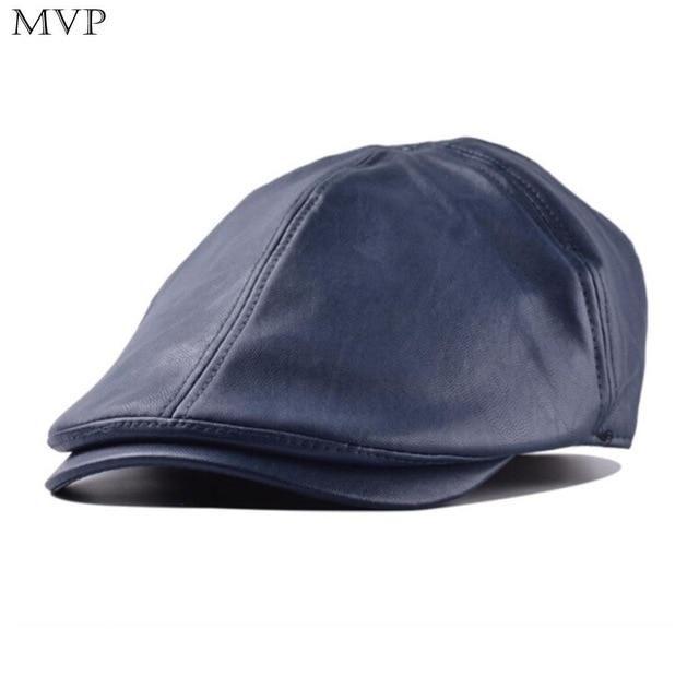 Autumn Winter Hat Men Fashion Flat Cap Beret Men Sun Newspaper Cabbie Caps Outdoor