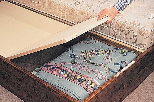 come costruire un letto contenitore