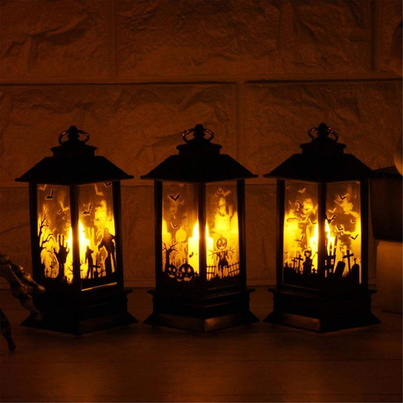 Halloween Kerze Mit Led Teelicht Kerzen Lichterketten Innen Aussen Deko Lichter Fur Halloween Grusel Party Lichterketten Innen Halloween Kerzen Kurbis Lichter