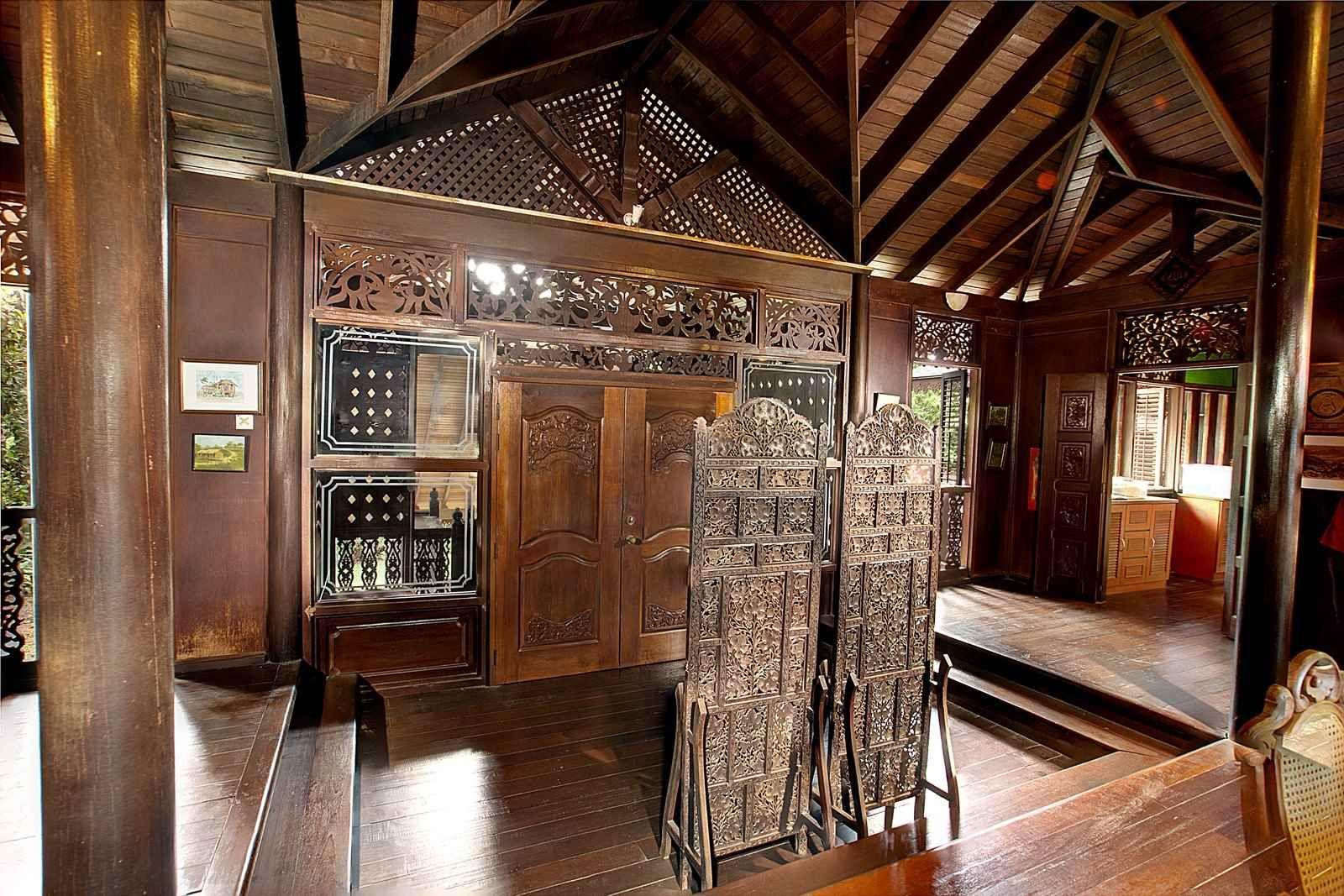 Malaysian Timber Council Traditional house, Timber