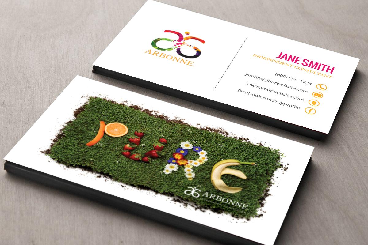 Arbonne Consultants We Ve Got New Business Cards Just For You Mlm Arbonne Print Paper Arbonne Business Cards Free Business Cards Printing Business Cards