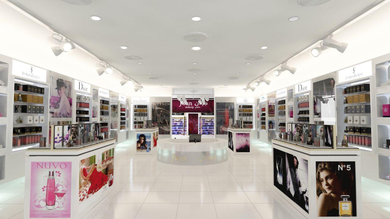 تصميم ديكورمحل عطور Store Design Creative Interior Design Store Interior