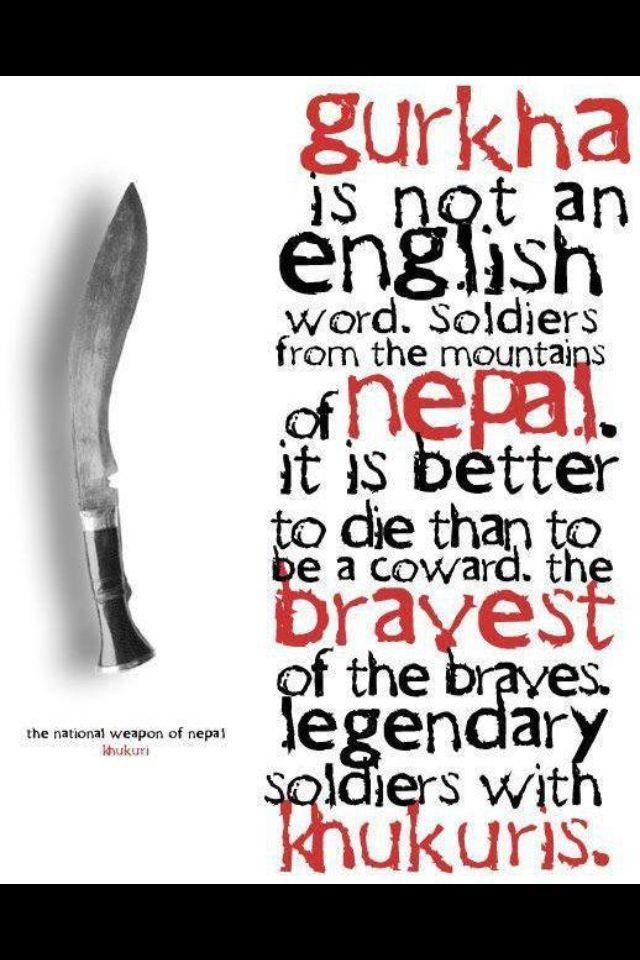 Khukuri Knife Birgurkhali Nepal Gurkha Nepal