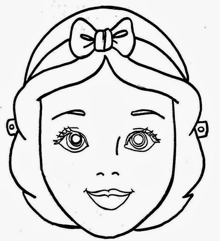 Mascaras De Carnaval Para Colorir Imprimir E Recortar Desenhos