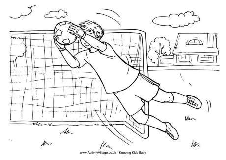 coloring pages for boys soccer - photo#40