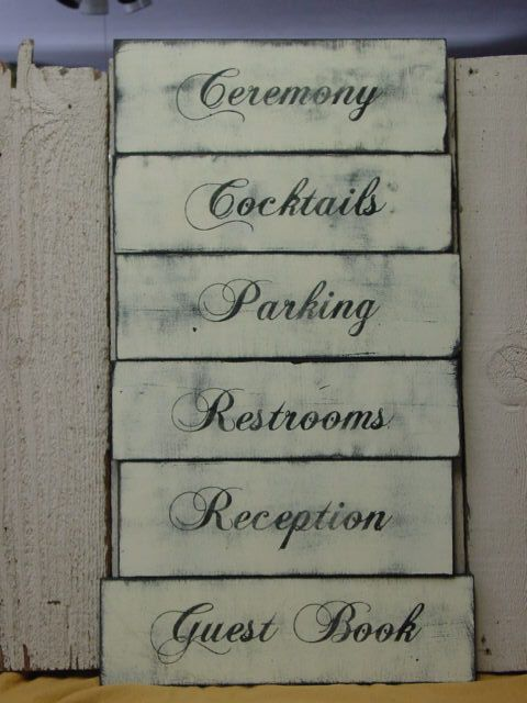 READY TO SHIP / Guest Book sign / shabby chic by SophiesCottage, $12.00