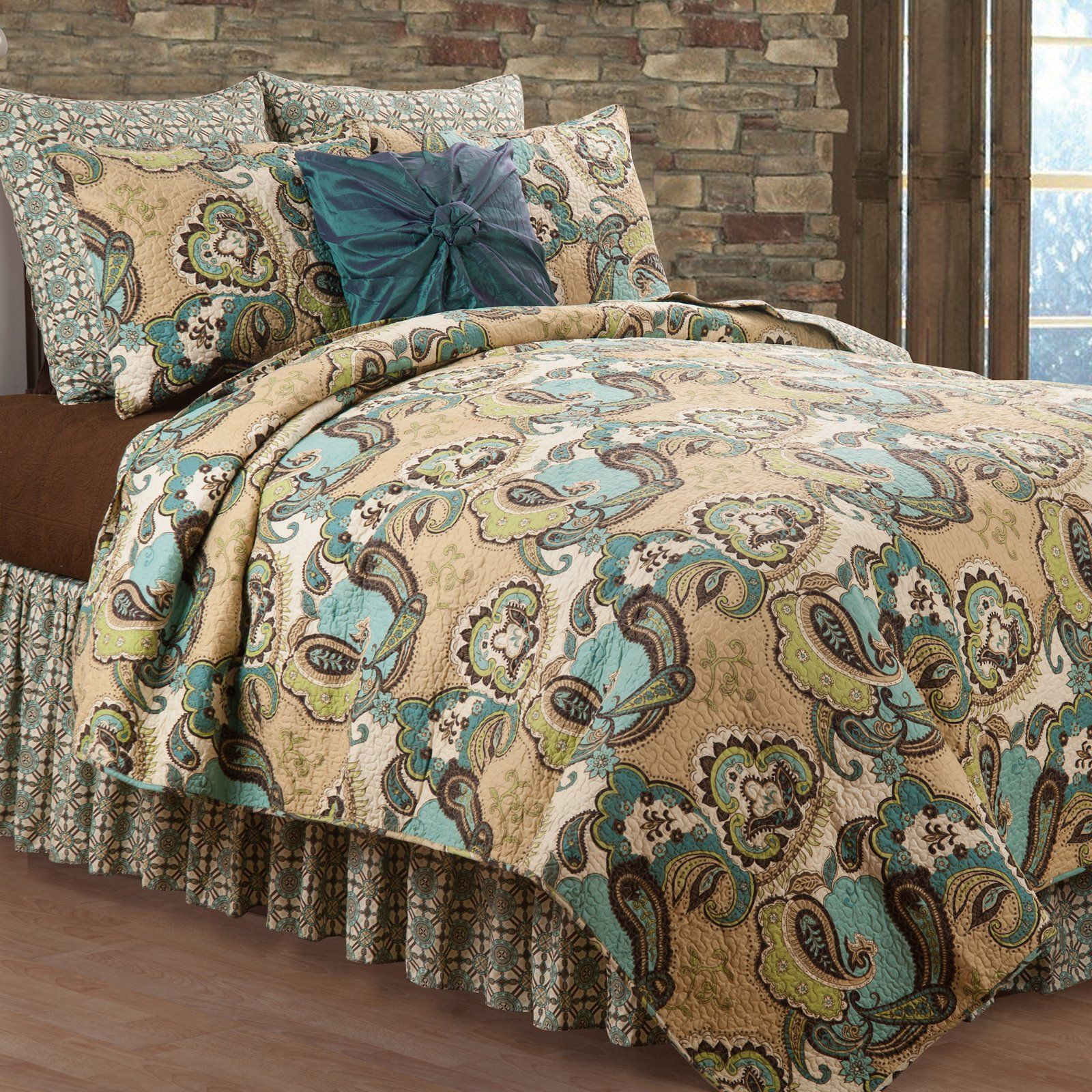 Weston Paisley Quilt Set By C F Home Quilt Sets Bedding Quilt