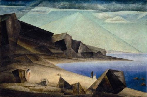 Lyonel Feininger - The High Shore 1923
