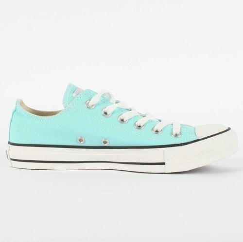 0a97e6920bb8 Converse Chuck Taylor All Star Women s Aruba Blue Canvas Ox 2 pr laces  130118F