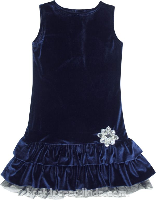8767266d2797 Madrid Broach Velvet Dress | Girls 7-16 Kids - A gorgeous girl's holiday  dress! #bestdressedkids.com #christmas