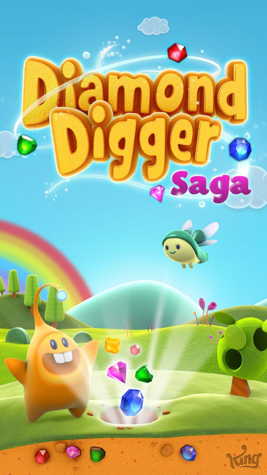 Diamond Digger Saga PuzzleArcadeiosEntertainment