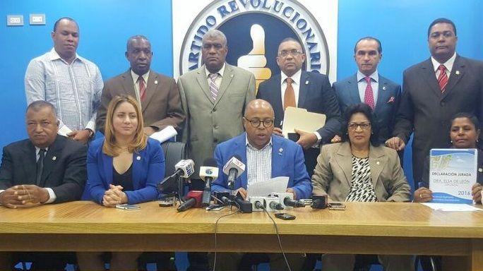 Diputados PRM rechazan informe de ejecución presupuestaria del año 2015