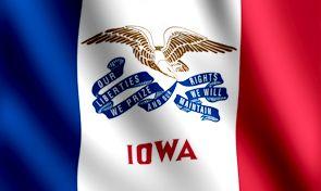 Iowa State Flag The Hawkeye State State Flags Flag Iowa