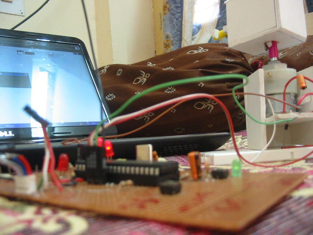 Usb Dc Motor Driver Http Rakeshmondalinfo L293d Ic Circuit Free Circuits
