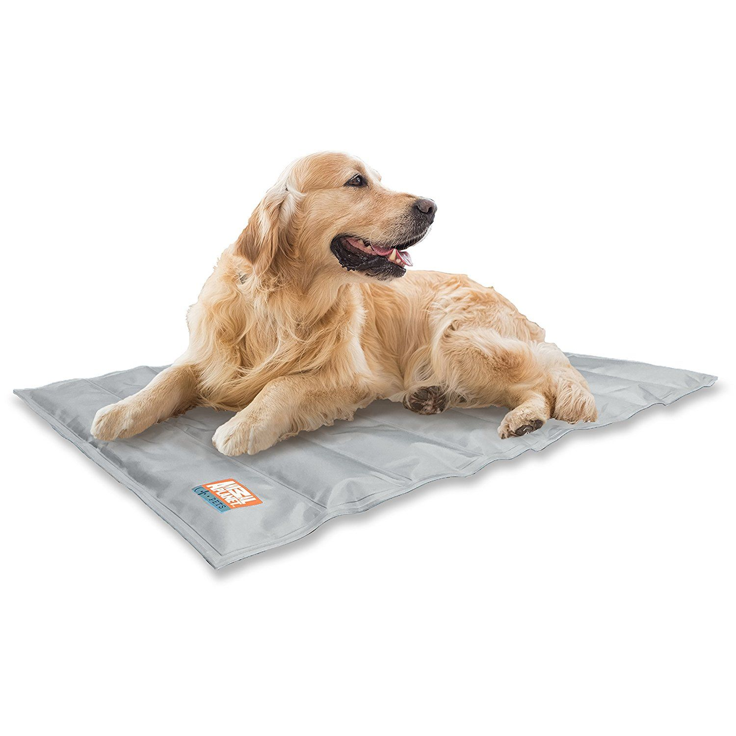 Animal Planet Cooling Gel Pet Mat 30 X 24 Grey Click Image To Review More Details This Is An Affiliate Link And I Rece Pets Pet Cooling Mat Cool Dog Beds