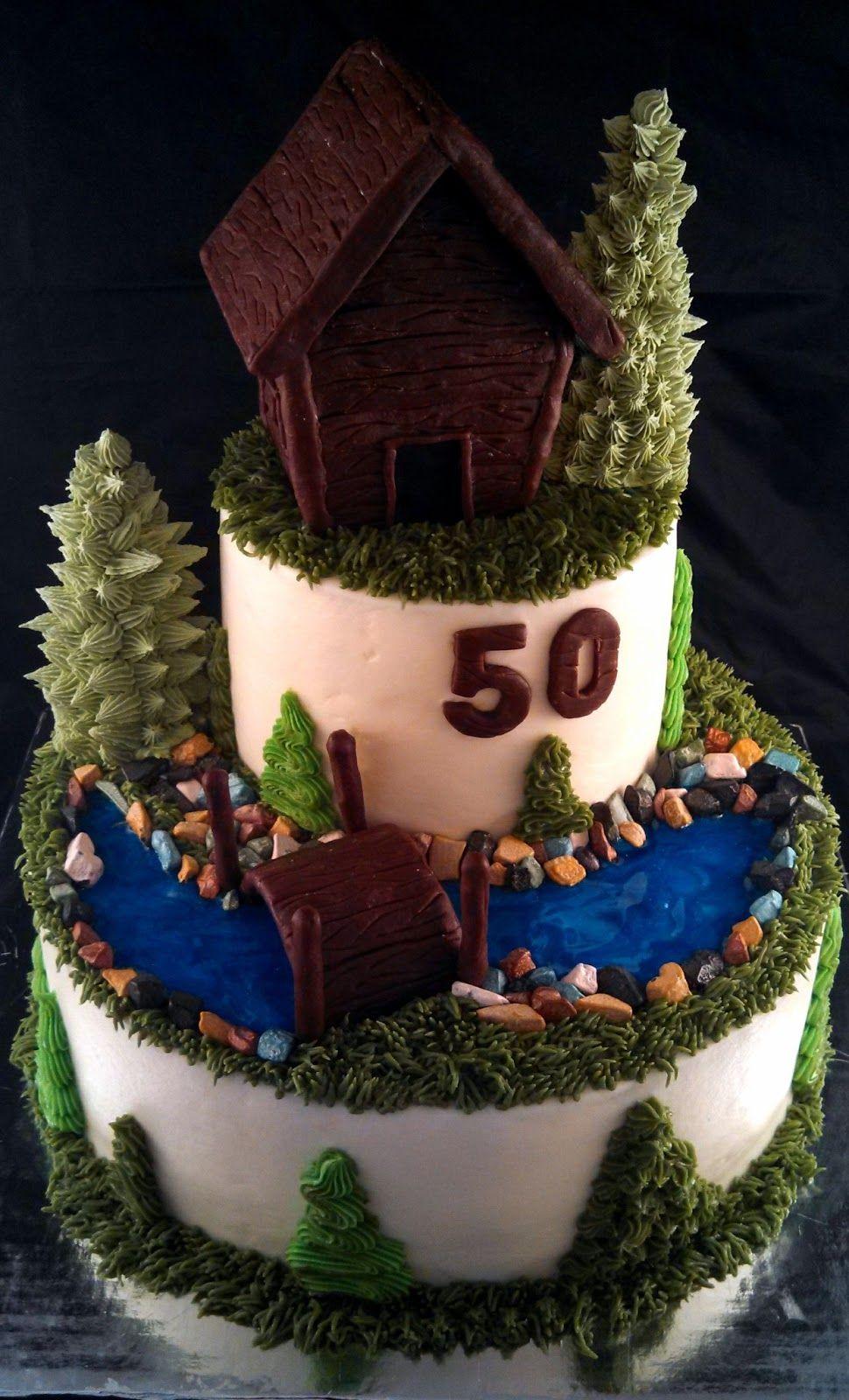 Log Cabin Cake Moose Cake Log Cake