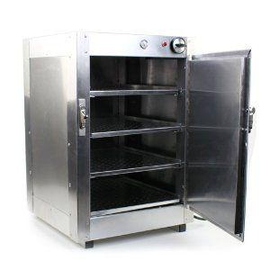 Commercial Food Pizza Warmer Heated Aluminum Countertop 16x16x24 Hot Box Cabinet Kitchen Storage Organization