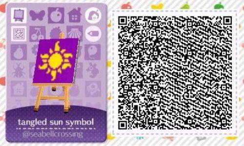 June Flag Qr Codes Animal Crossing Animal Crossing Qr Codes