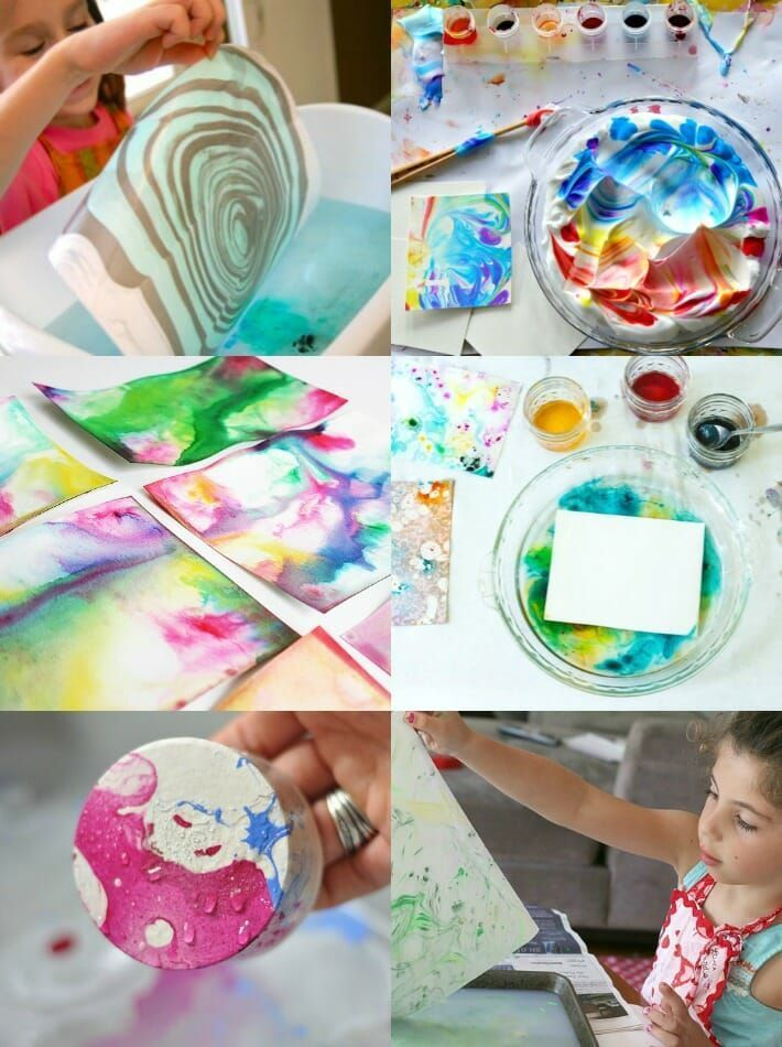 How to Marble Paper (6 Easy Marbling Techniques fo