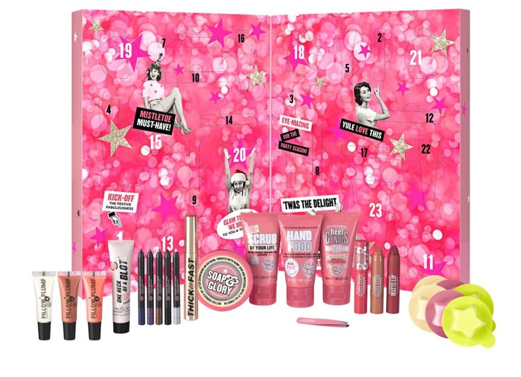 Soap Glory It S A Calendar Girls 40 Beauty Advent Calendars