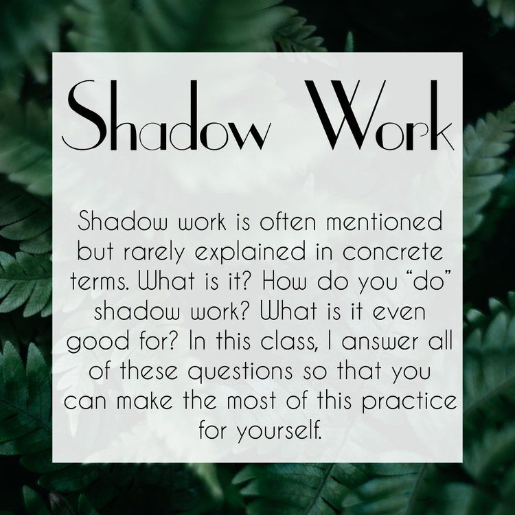 Academy Main Page — The Traveling Witch Shadow work