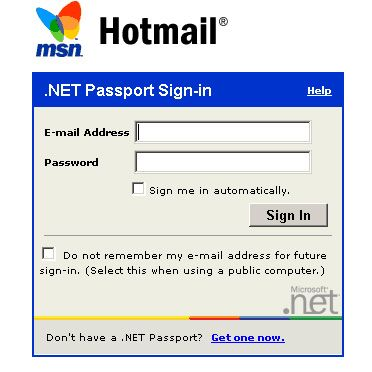 Msn com hotmail inbox sign in