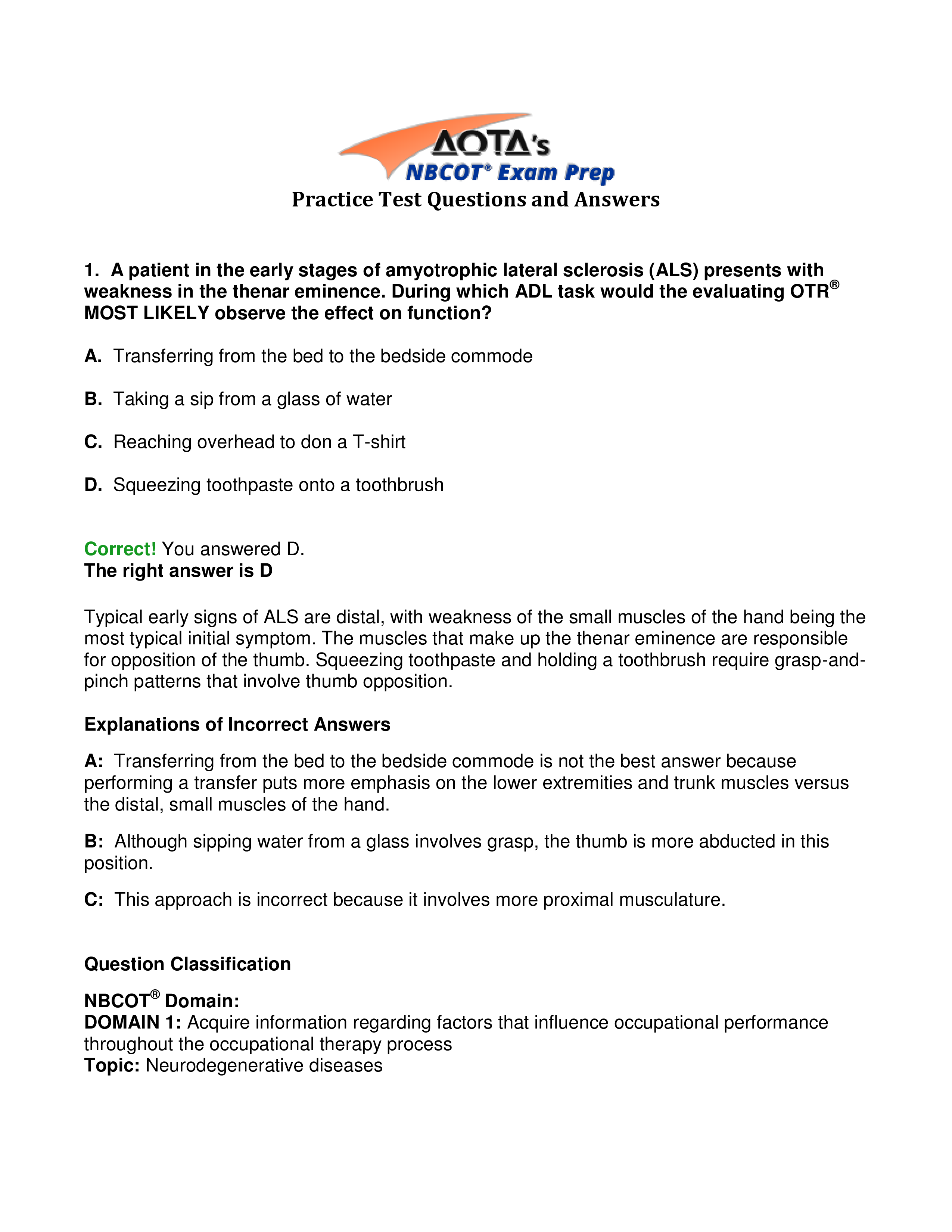 Pin By Natalie Everly On Cota Test Prep