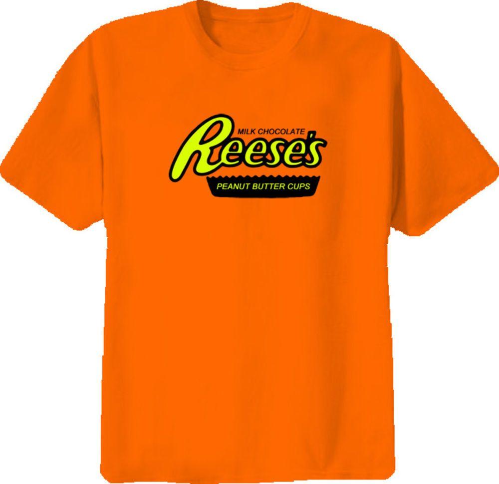 71711823eb0 Reese  PeanutButter Cups T Shirt  PB  CHOCOLATE  Halloween