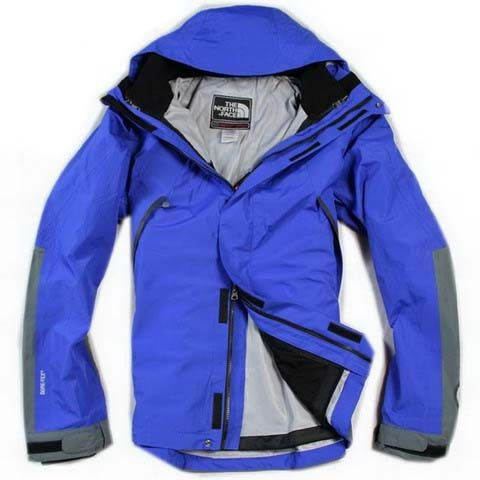 Mens The North Face Triclimate 3 In 1 Jacket Deep Sky Blue