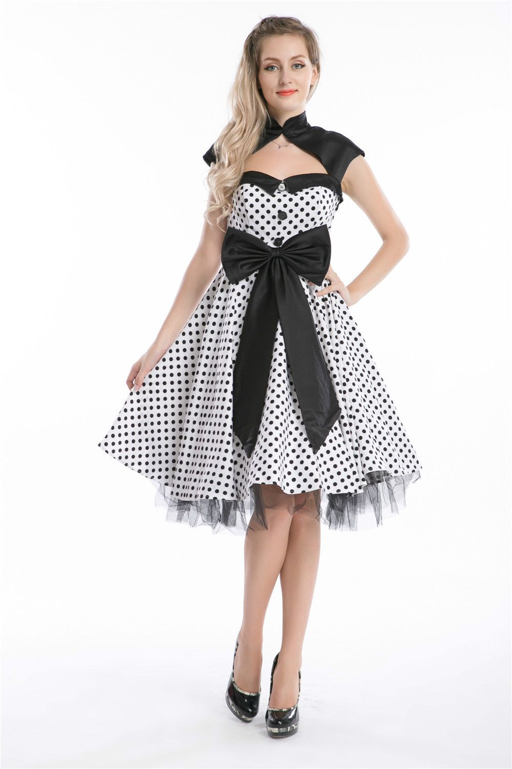 Click to buy ucuc free shipping new fashion rockabilly dress vintage