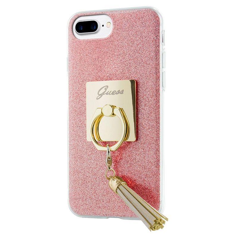 iPhone 7 Plus Guess Ring TPU Deksel Rosa | Iphone, Mobil